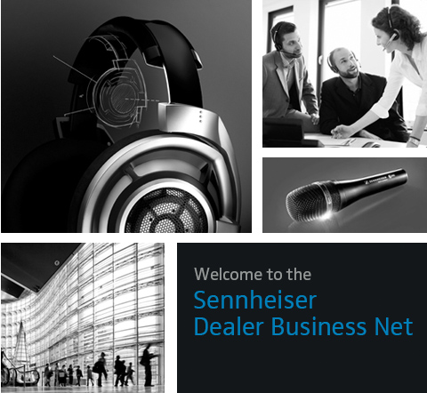 Welcome to the Sennheiser Dealer Business Net
